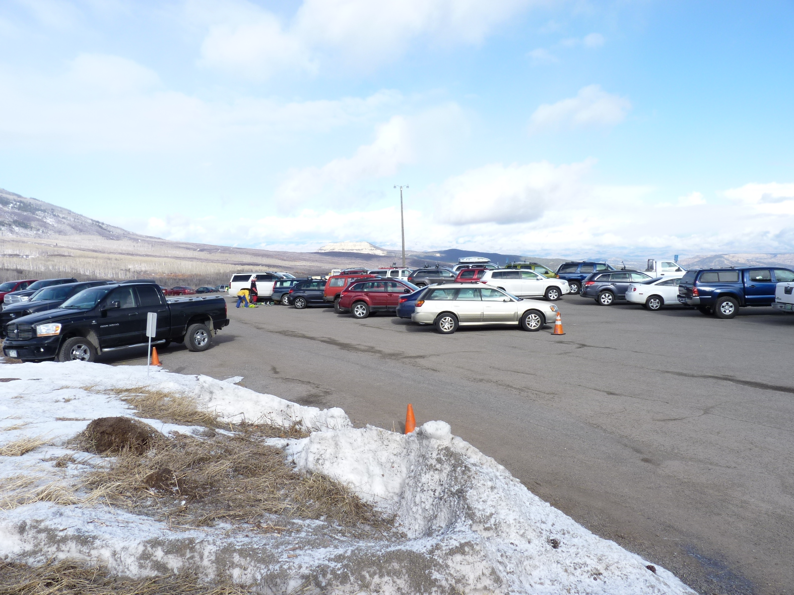 powderhorn upper parking lot