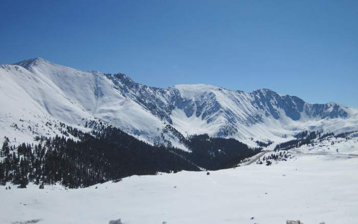 loveland pass backcountry skiing