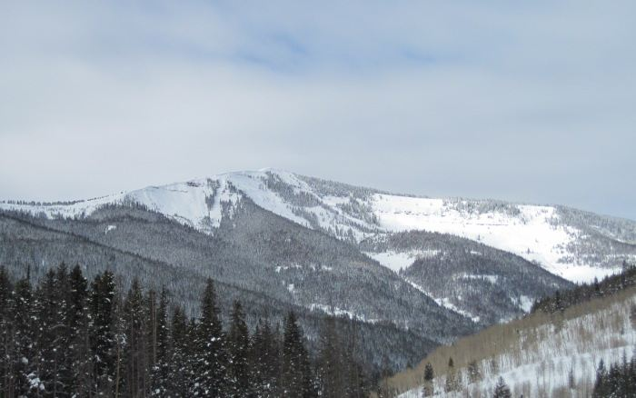 east vail backcountry skiing