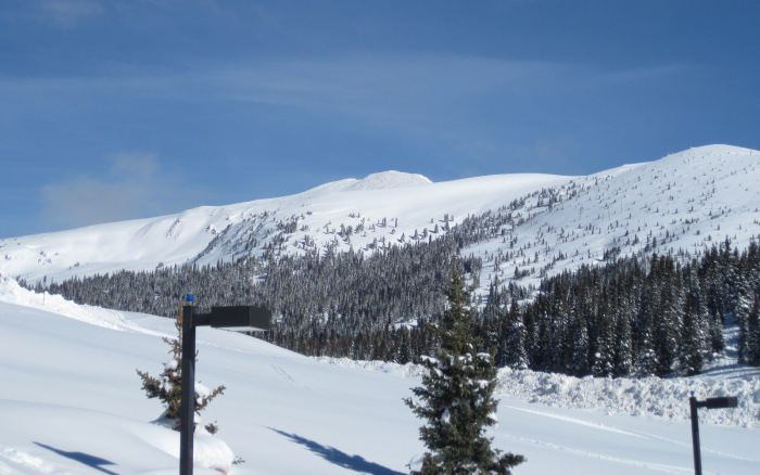 vail pass backcountry skiing