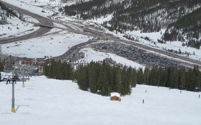 copper mountain parking