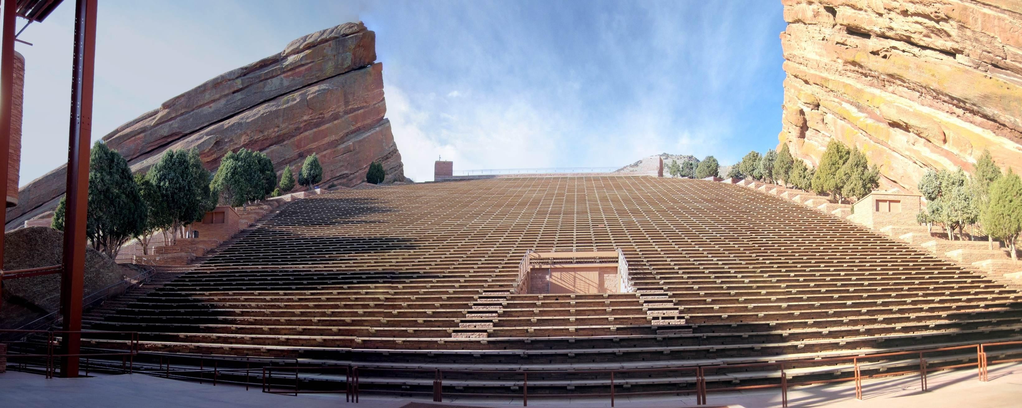 Red Rocks Concerts Denver Broomfield Morrison Amphitheatre
