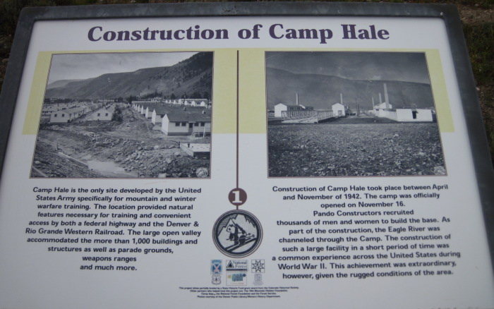 camp hale old structure