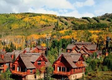 Mountain lodge at telluride ski in ski out lodging for Ski cabin rentals colorado