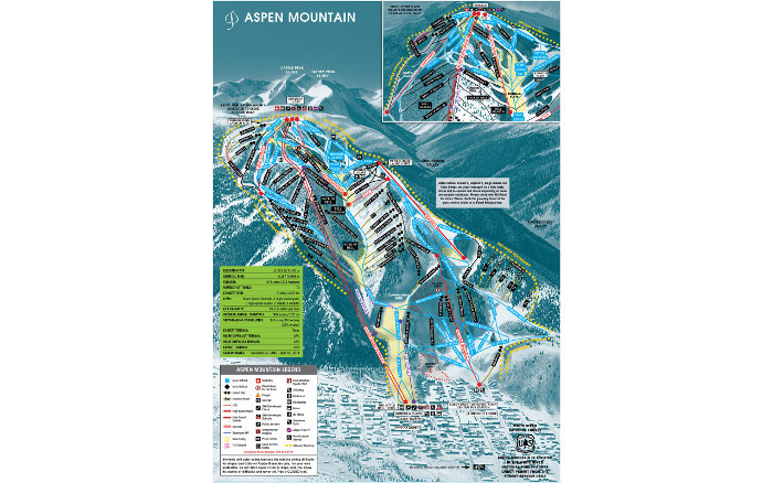 aspen trail map