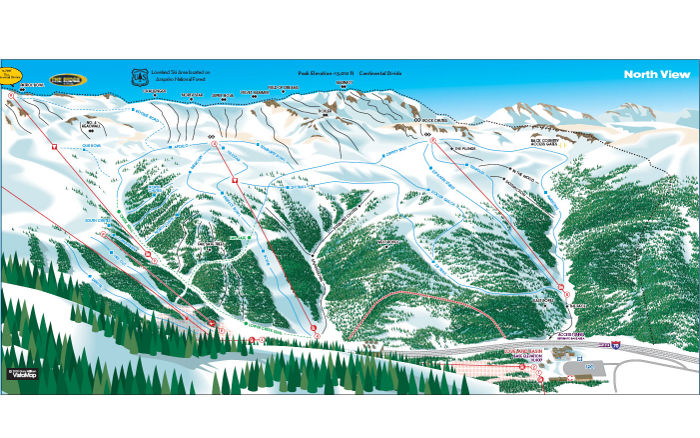 loveland trail map