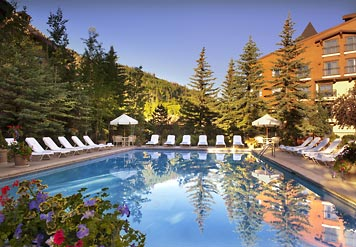 vail marriott heated pool