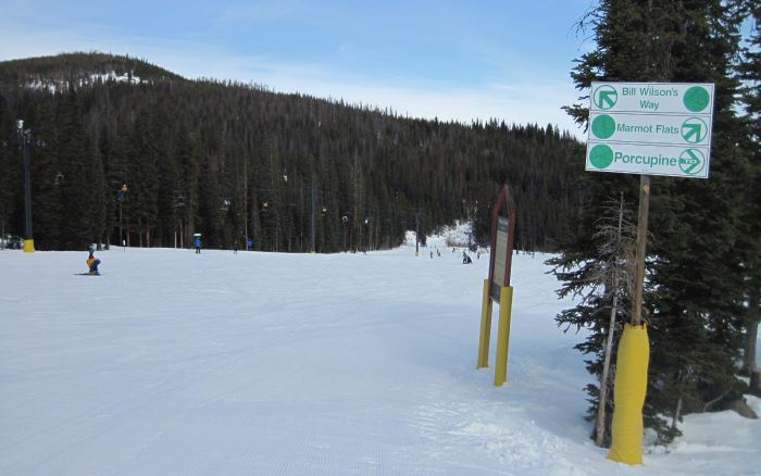 Winter Park Beginner Skiing They Re So Green